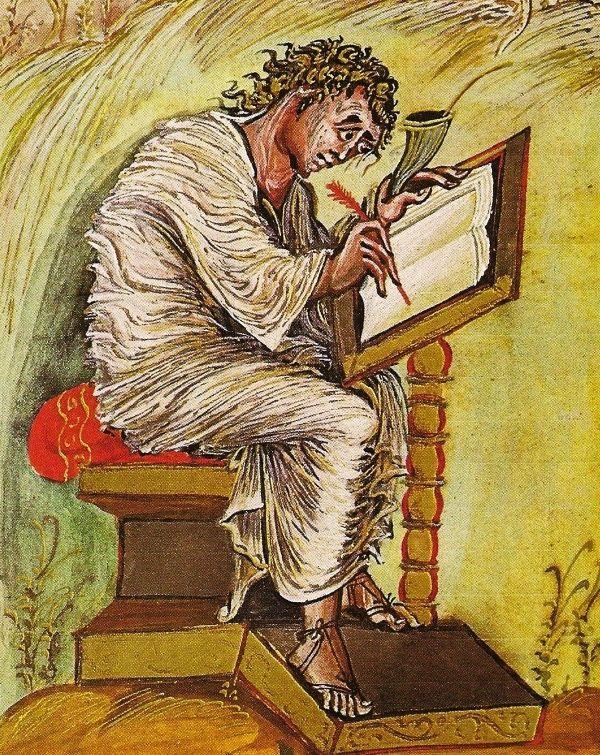 Pisanie nie było we wczesnym średniowieczu zajęciem godnym władcy. Co innego czytanie.