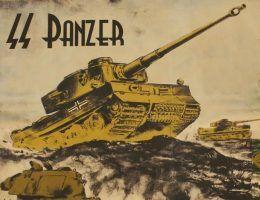 Tygrys na niemieckim plakacie propagandowym.