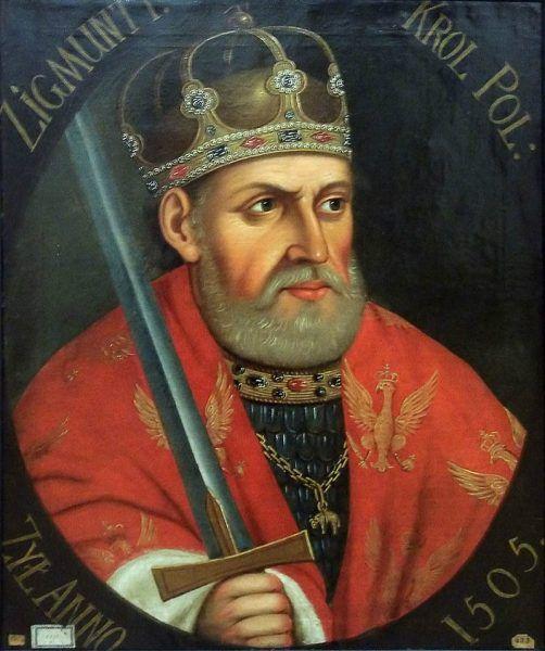 Zygmunt Stary cesarzem Niemiec? Był czas, kiedy było to możliwe - a nawet bardzo prawdopodobne (źródło: domena publiczna).