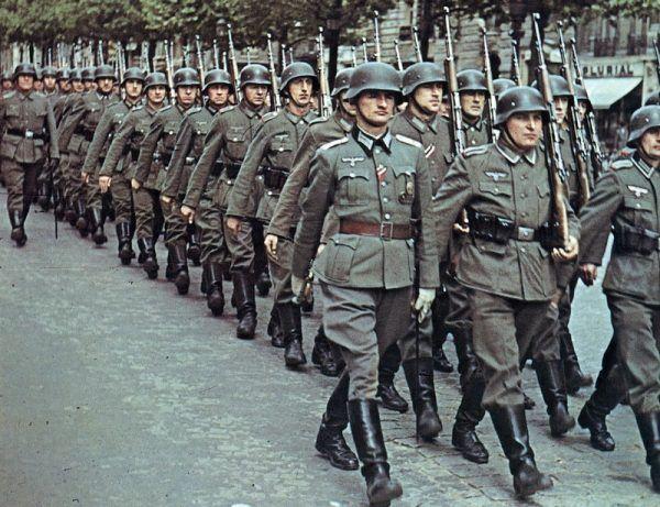 """Ze wsi Bojszowy pod Oświęcimiem do Wehrmachtu wcielono około czterystu mężczyzn. Ich dzieci do końca życia musiały borykać się z piętnem """"niemieckiego bękarta"""" (autor: Erichvoned, lic.: CC BY-SA 4.0)."""