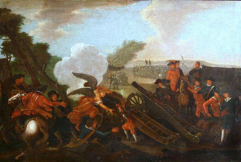 Bitwa pod Kliszowem na XVIII-wiecznym obrazie nieznanego autora (źródło: domena publiczna).