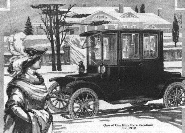 Samochód elektryczny – w sam raz dla kobiety (reklama z 1912 r.)?