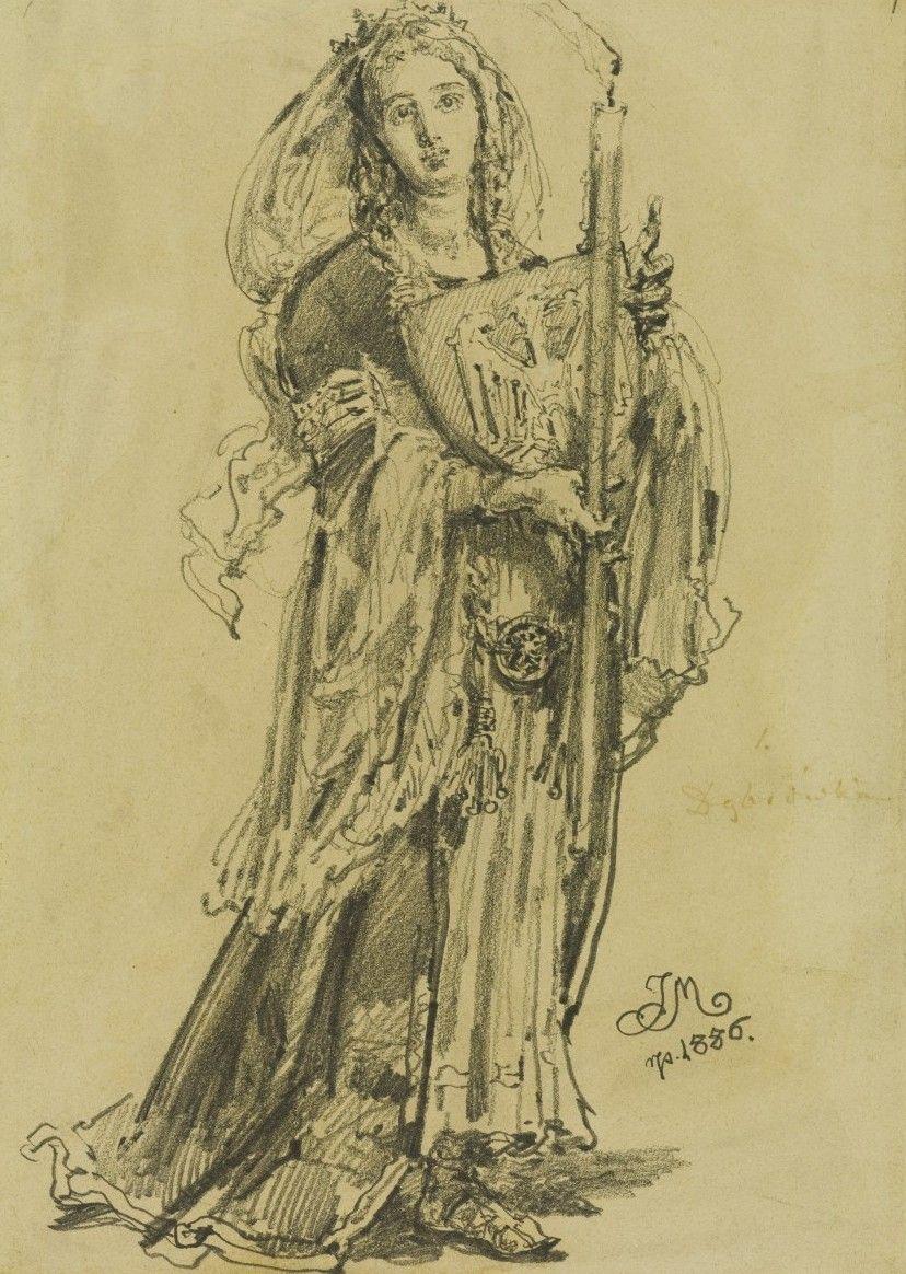 Bolesław Chrobry jako syn czeskiej księżniczki Dobrawy uważał, że ma wystarczające prawa do praskiego tronu (obraz Jana Matejki, domena publiczna).