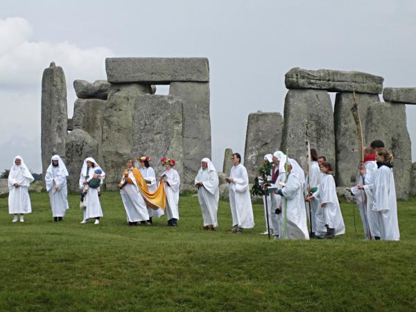 Za rozpowszechnianie i przeprowadzanie makabrycznych rytuałów odpowiadali druidzi (autor: sandyraidy, licencja: CC BY-SA 2.0).