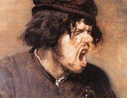 Adriaen Brouwer, Gorzki łyk, ok. 1635 (źródło: domena publiczna)