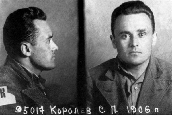 Siergiej Korolow po aresztowaniu w 1938 roku (fot. domena publiczna).