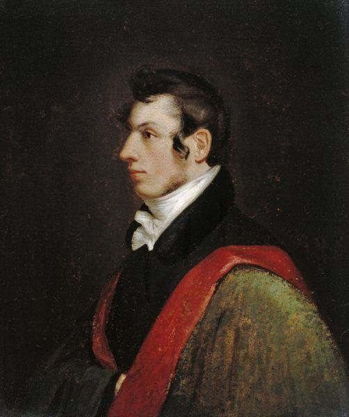 Samuel Finley Breese Morse był nie tylko wynalazcą, ale też utalentowanym malarzem. Powyżej autoportret jego autorstwa (domena publiczna).