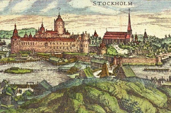 Do zdobycia Sztokholmu wystarczyło Samuelowi Łaskiemu zaledwie 12 ludzi (źródło: domena publiczna).