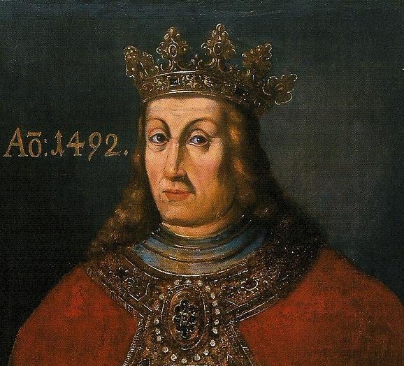Gdyby Jan Olbracht był bardziej spolegliwy, pewnie zostałby królem Węgier. Węgierscy magnaci woleli łagodniejszego Władysława Jagiellończyka, co doprowadziło do wojny domowej (źródło: domena publiczna).