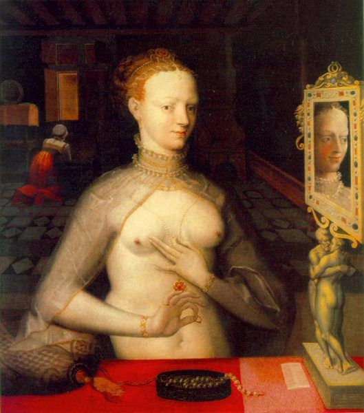 Czy Katarzyna Medycejska miała jakiekolwiek szanse w rywalizacji z Dianą de Poitiers? Obraz autorstwa nieznanego z nazwiska przedstawiciela tzw. Szkoły z Fontainebleau (źródło: domena publiczna).