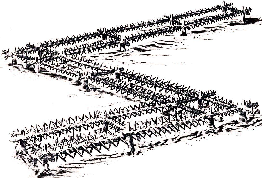 Jednym ze sposobów na powstrzymanie husarii mogły być kobylice. Rysunek ze zbiorów Radosława Sikory.