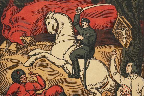 W trudnym momencie polskiej historii Francuzi pokazali, że można na nich liczyć (źródło: domena publiczna).