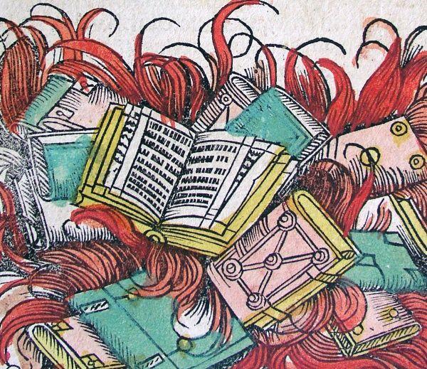 Palenie książek na stosach zdarzało się nie tylko w Niemczech. Przez całe stulecia praktykowano je też w Polsce.