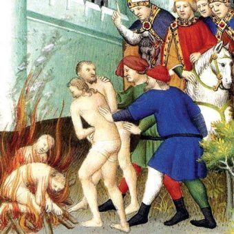 Palenie na stosie było sprawdzonym sposobem na wybawienie grzesznika od ognia piekielnego (według inkwizycji)
