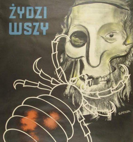 Celem antysemickiej propagandy było odczłowieczenie Żydów (źródło: domena publiczna)