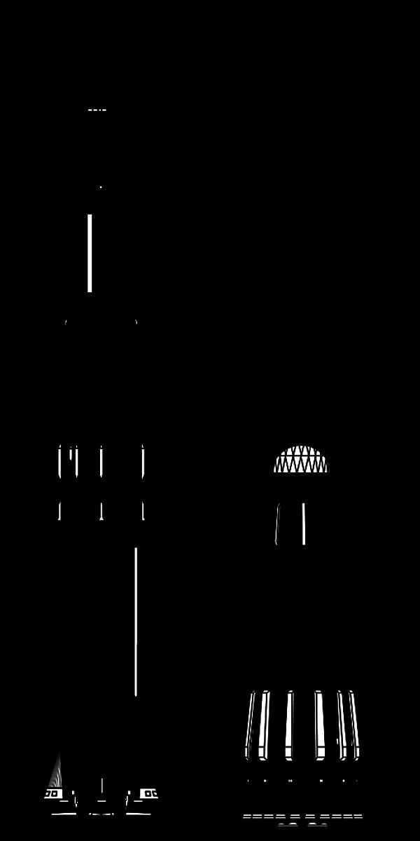 Porównanie rakiet Saturn V (po prawej) i N1 (rys. NASA, domena publiczna).
