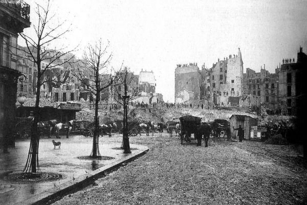 Aby stworzyć piękny Paryż, trzeba było wyburzyć dawne miasto (fot. Charles Marville, źródło: domena publiczna).