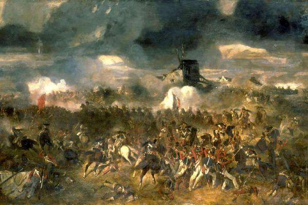 Niewiele pomógł Napoleonowi powrót do Francji - wkrótce przegrał pod Waterloo (źródło: domena publiczna).