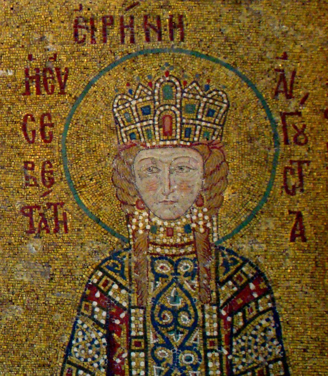 Cesarzowa Bizancjum musiała mieć bizantyjskie imię. I ściśle trzymano się tej zasady... (fot. Bjørn Christian Tørrissen; lic. CC BY-SA 3.0).