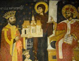 Nie tylko Piastowie i Jagiellonowie obsadzali trony sąsiednich państw swoimi kandydatami. Podobnie robili również polscy królowie elekcyjni. Na ilustracji jeden z takich kandydatów Jeremi Mohyła (źródło: domena publiczna).
