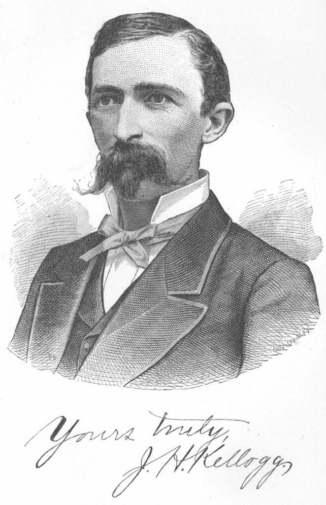 John Harvey Kellogg – wynalazca płatków kukurydzianych i otwarty przeciwnik łechtaczek (źródło: domena publiczna).