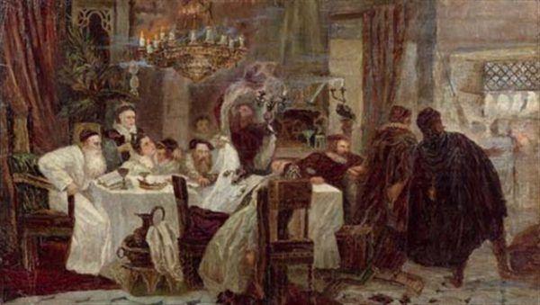 Marrani świętujący Paschę (