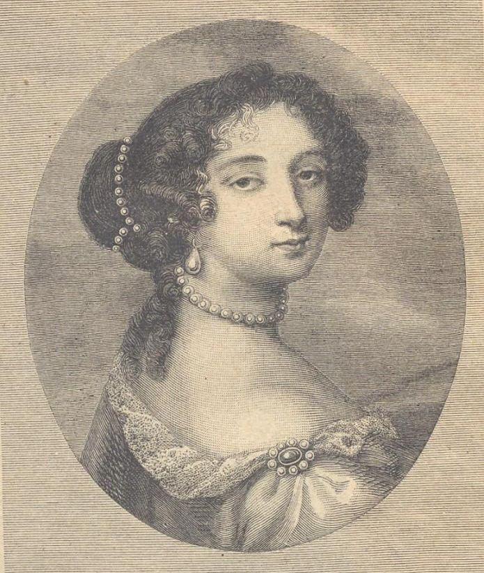 Piękny Kopciuszek dzielnie odrzucał kolejnych zalotników. Franciszka d'Aubigne na obrazie Nicolasa II de Larmessina (źródło: domena publiczna).