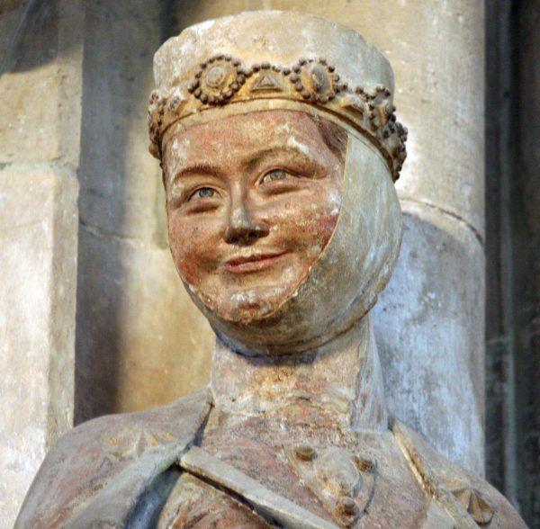 Swoje imię straciła prawdopodobnie także córka Bolesława Chrobrego, znana tylko jako niemiecka Regelinda (fot. Linsengericht; lic. CC BY-SA 3.0)..