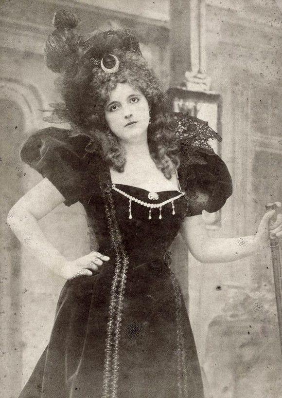 Clara Ward na fotografii z lat dziewięćdziesiątych XIX wieku (źródło: domena publiczna).