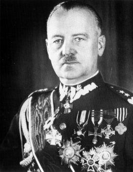 Władysław Sikorski - premier rządu RP na uchodźstwie i autor pamiętnego przemówienia (źródło: domena publiczna).
