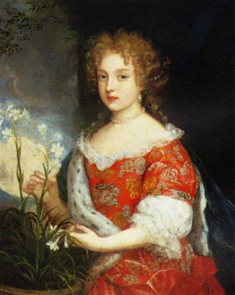 Ta urocza dziewczynka to Ludwika Karolina Radziwiłłówna. Portret powstał mniej więcej w tym czasie, gdy poślubiła swego pierwszego męża, Ludwika Hohenzollerna (źródło: domena publiczna).