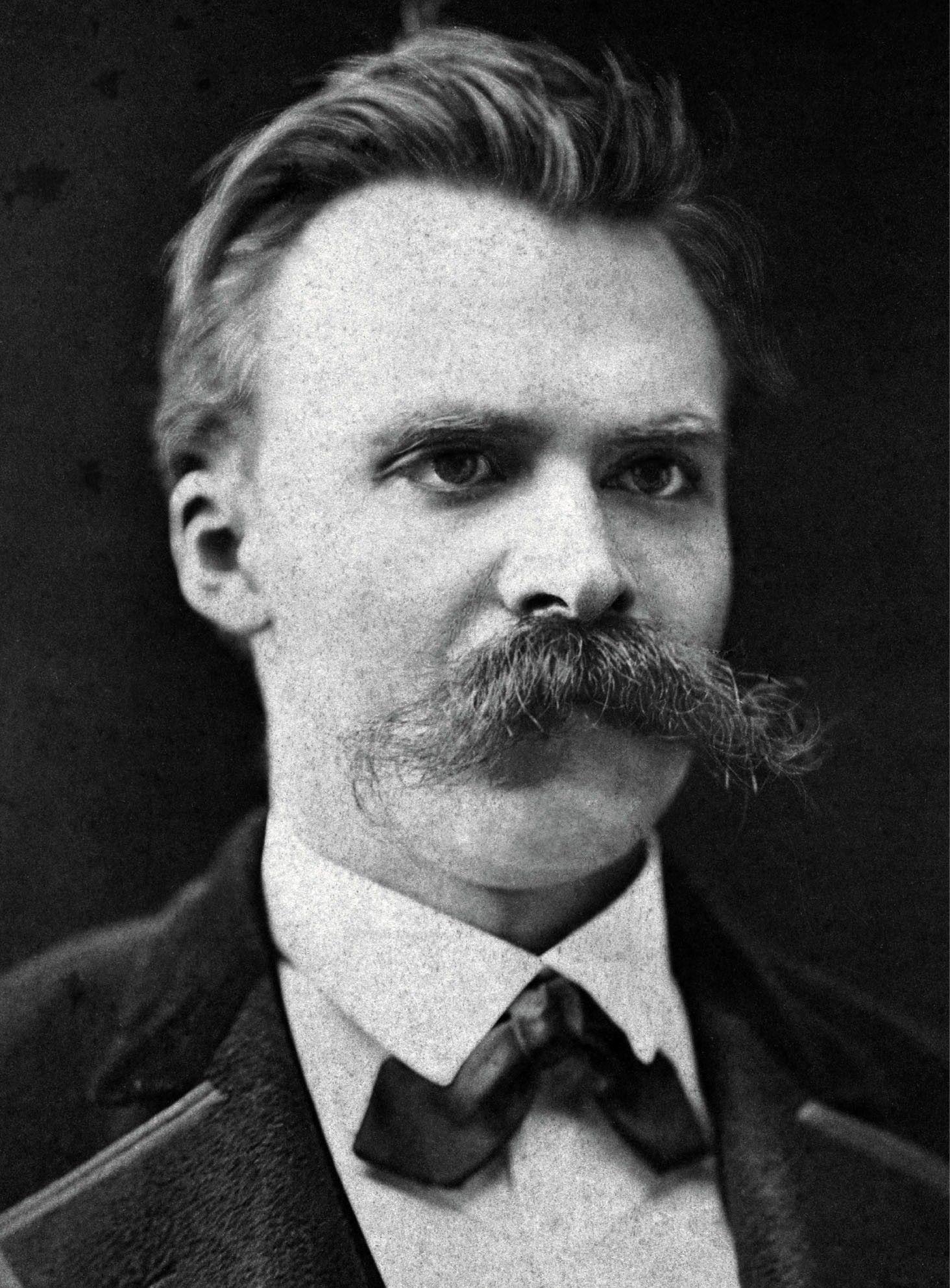 Friedrich Nietzsche polskie korzenie wymyślił, aby dopiec swoim rodakom (źródło: domena publiczna).