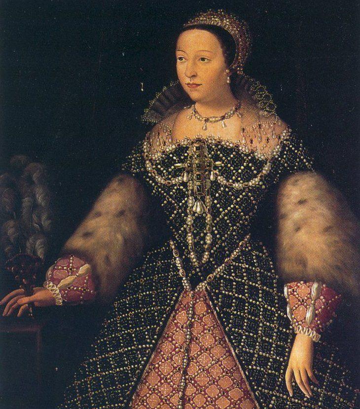 Katarzyna Medycejska potrafiła robić męskie rzeczy w taki sposób, by wyglądały stuprocentowo kobieco (źródło: domena publiczna).