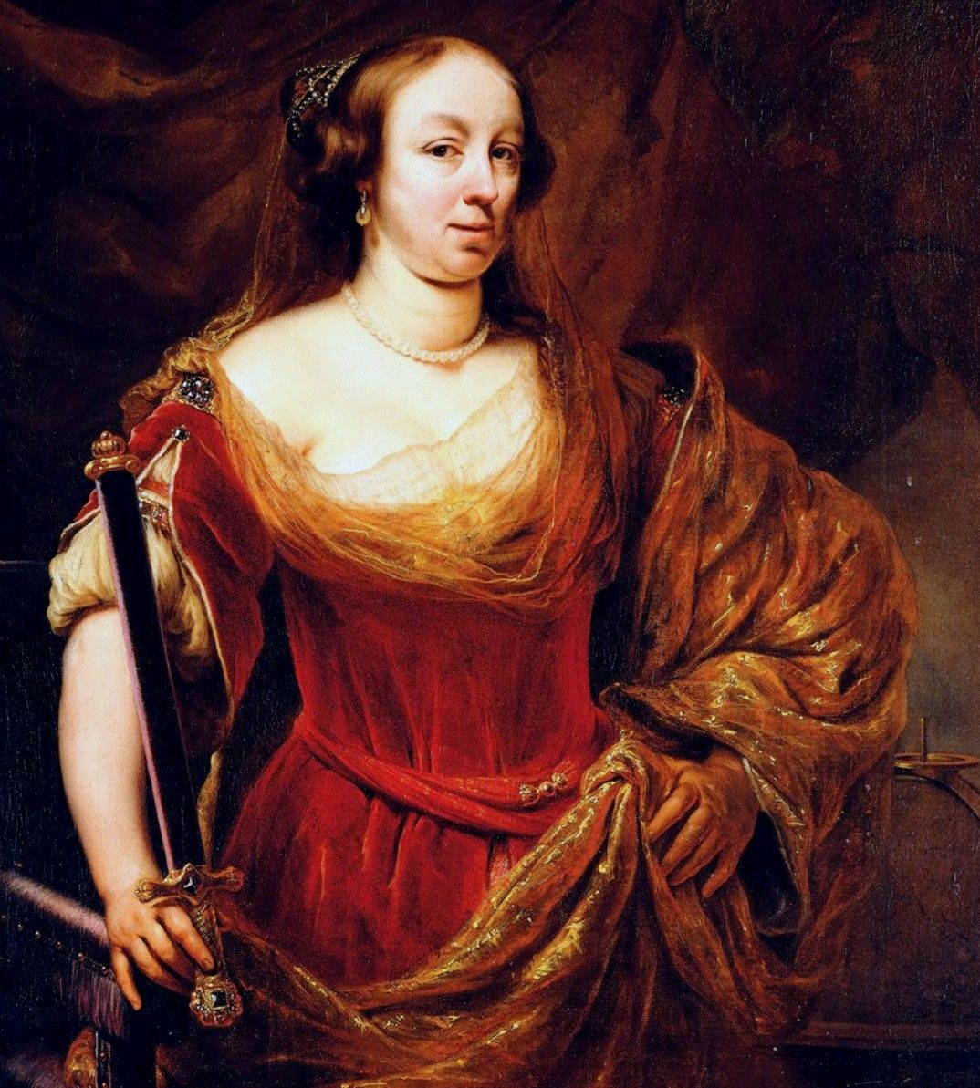 To intryga, której patronowała królowa Ludwika Maria Gonzaga, doprowadziła do ślubu Sobieskiego z Marysieńką (autor: Ferdinand Bol, źródło: domena publiczna).