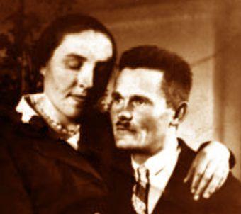 """Zdjęcie małżeństwa Ulmów. Oboje zamordowani za ukrywanie Żydów w 1944 roku. W 1995 zostali pośmiertnie odznaczeni medalem """"Sprawiedliwych wśród Narodów Świata"""" (źródło: domena publiczna)."""