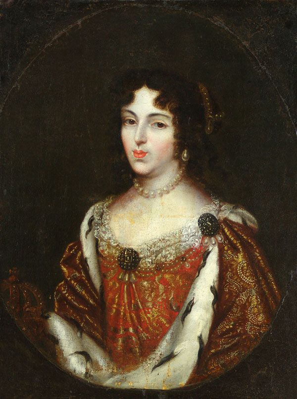 Piękna i rozkapryszona - oto Maria Kazimiera d'Arquien Sobieska (źródło: domena publiczna).