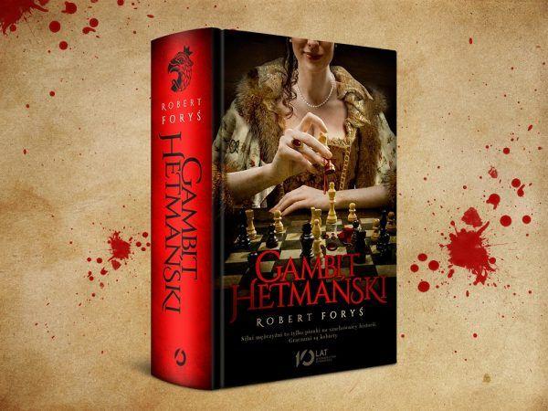 """W konkursie można wygrać jeden z pięciu egzemplarzy książki Roberta Forysia pod tytułem <a href=""""http://www.znak.com.pl/ciekawostkikartoteka,ksiazka,7434,Gambit-hetmanski?utm_source=ciekawostkihistoryczne.pl&amp;utm_medium=promo&amp;utm_content=konkurs&amp;utm_campaign=Gambit_042016"""" target=""""_blank"""">""""Gambit hetmański""""</a> (Wydawnictwo Otwarte 2016). To fascynująca opowieść o kobietach, które nade wszystko pragną władzy. Gotowe są za nią zapłacić złotem, krwią, trucizną, a nawet – własnym ciałem..."""