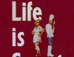 """Miesiąc brytyjski w CBS Europa otwiera film """"Życie jest słodkie"""" (fot. materiały prasowe)."""