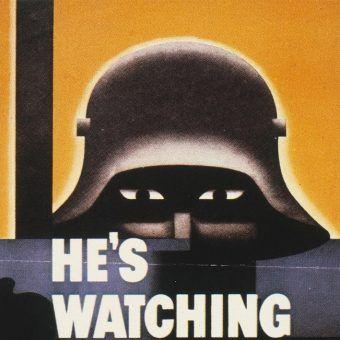 Amerykański plakat z okresu II wojny światowej (źródło: domena publiczna).