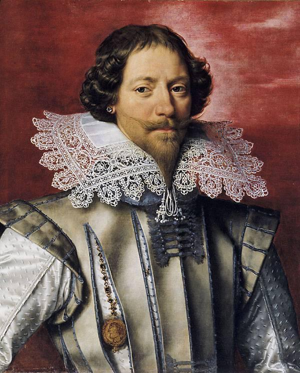 Czy to genitalia Mercier tak zraziły małego Ludwika do płci pięknej, że jako dorosły preferował towarzystwo mężczyzn? Na obrazie Karol de Luynes, główny faworyt Ludwika XIII w latach 1617-1621 (źródło: domena publiczna).