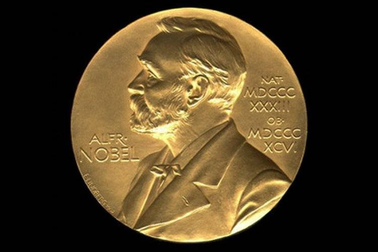 Medal z wizerunkiem Alfreda Nobla