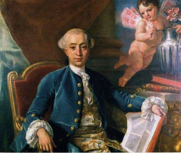 Casanova miał w życiu wiele kobiet. Jednak mimo tego potrafił się prawdziwie zakochać (źródło: domen publiczna).