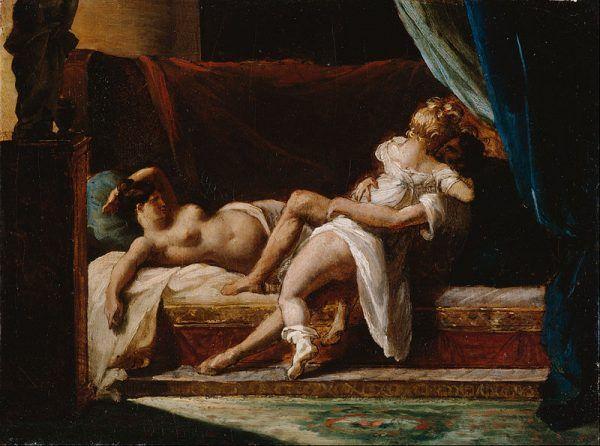"""Również Casanova miał swoje """"chwile słabości"""". Jednak szybko sytuacja wracała do normy. Na ilustracji obraz Théodore'a Géricaulta (źródło: domena publiczna)."""