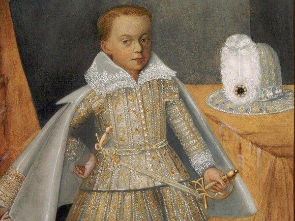 Słodki chłopczyk, prawda? Niestety, choć był królewiczem, jego przyszłość nie wyglądała różowo. Na obrazie Karol Aleksander Waza, najmłodszy syn Zygmunta III (źródło: domena publiczna).
