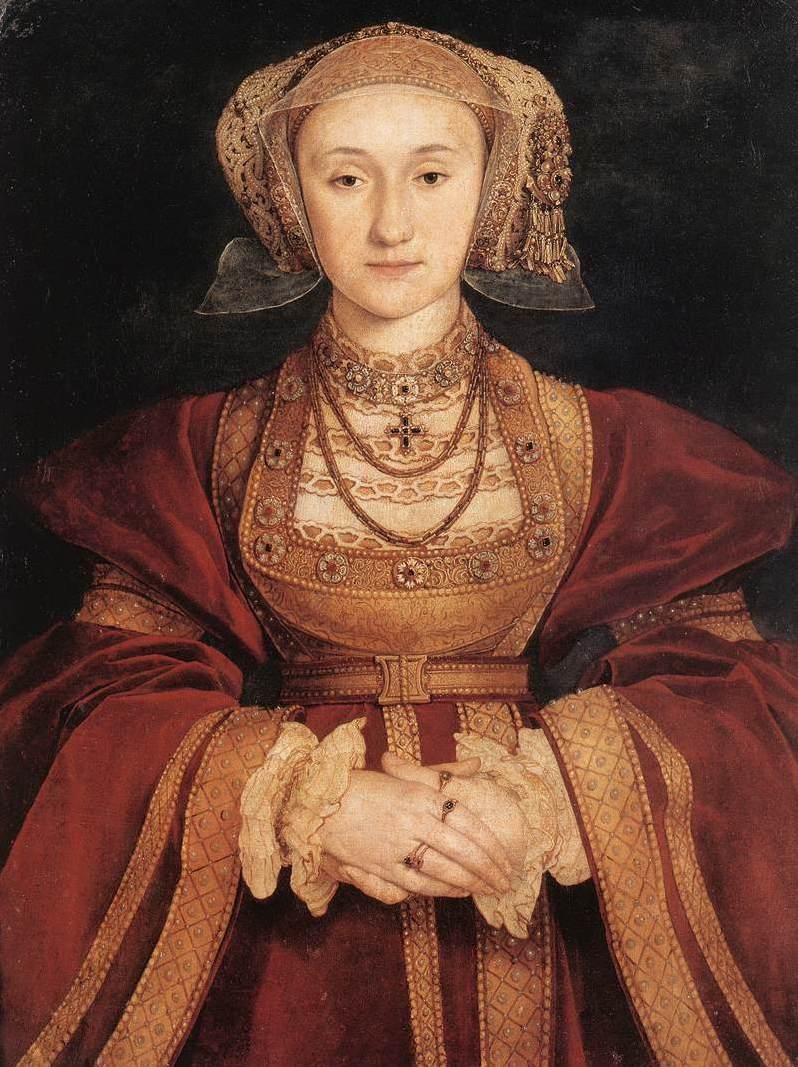 Wbrew obiegowej opinii Hans Holbein wcale szczególnie nie upiększył Anny Kliwijskiej podczas malowania portretu zaręczynowego (źródło: domena publiczna).