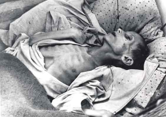 """Podczas gdy zachodni dziennikarze razem z naczelnym cenzorem świętowali """"uciszenie"""" Garetha Jonesa, miliony ludzi umierały z głodu (źródło: domena publiczna)."""