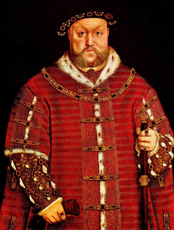 """Henryk zmacał żonę, a że jej ciało nie było """"dostatecznie jędrne"""", zaczął wątpić w jej dziewictwo. Obraz Hansa Holbeina z ok. 1542 roku (źródło: domena publiczna)."""