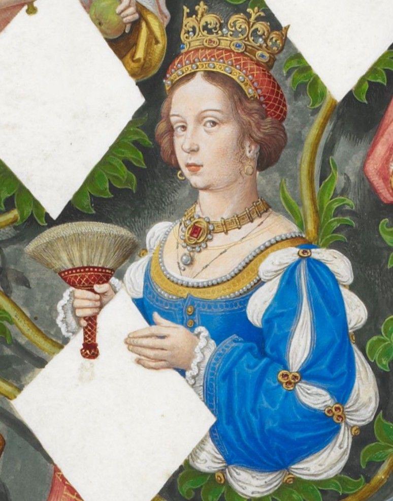 Żona Henryka IV Impotenta, Joanna Portugalska, traktowała wierność małżeńską na tyle lekko, że urodziła trójkę dzieci... (źródło: domena publiczna).