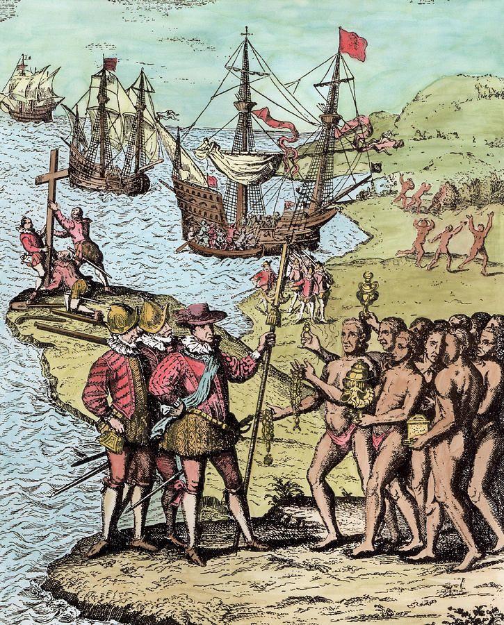 250 lat po odkryciu przez Kolumba Hispanioli, wyspa już dawno przestała być tropikalnym rajem. Teraz był to jeden wielki obóz niewolniczej pracy, przynoszący Francuzom krociowe zyski (źródło: domena publiczna).