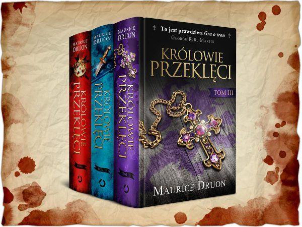 """Inspiracją do napisania artykułu był cykl powieściowy Maurice'a Druona pod tytułem """"Królowie przeklęci"""" (Wydawnictwo Otwarte 2016)."""